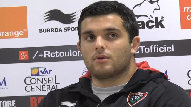 VIDEO. Top 14. Le jeune pilier du RC Toulon François-Joseph Bordewie n'a pas peur