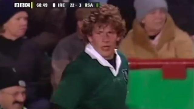 TOP 14 - MHR : l'anecdote magique de François Steyn sur ses cheveux, un serre-tête... et Bakkies Botha