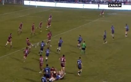 Le très beau match entre Castres et Montpellier