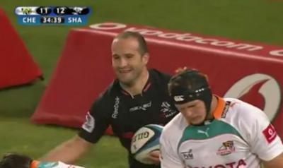 Frédéric Michalak brille en Super Rugby contre les Cheetahs...