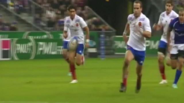 VIDEO. FLASHBACK. 2012. Frédéric Michalak porte le XV de France face aux Samoa