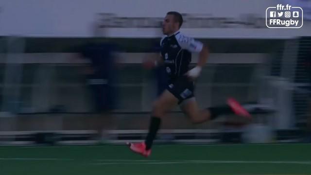 VIDEO. Trophée Jean Prat - Gabin Villière porte Rouen vers le titre avec un essai de 90m et un superbe offload