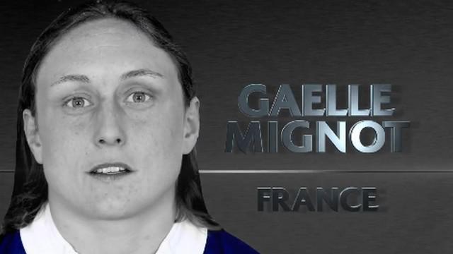 VIDEO. Gaëlle Mignot nominée pour le titre de joueuse de l'année