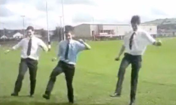 VIDEO. Flashback - George North vend du rêve en dansant le jumpstyle