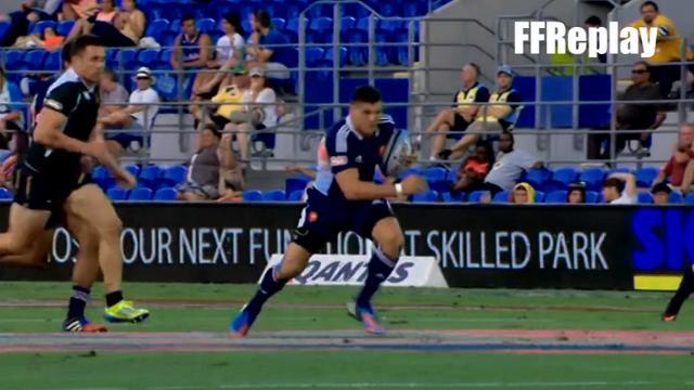 VIDEO. Les essais de France 7 lors de la 1ère journée du Gold Coast Seven