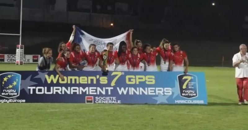 VIDEO. Grand Prix Series. France 7 féminines remporte la première étape à Marcoussis