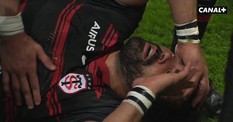 VIDEO. Top 14. Grave blessure et probable fin de carrière pour Yoann Huget (Toulouse)