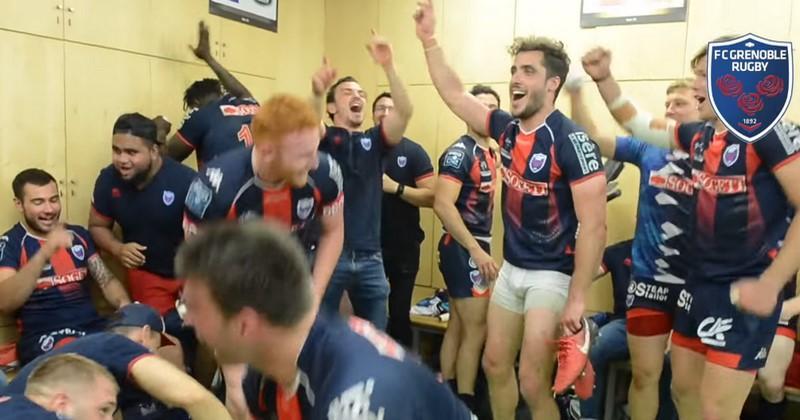 VIDÉO. Les joueurs du FC Grenoble répondent au chambrage de l'USAP en chanson