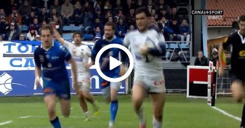La belle interception de Grosso n'empêche pas la défaite de Clermont à Castres [VIDÉO]