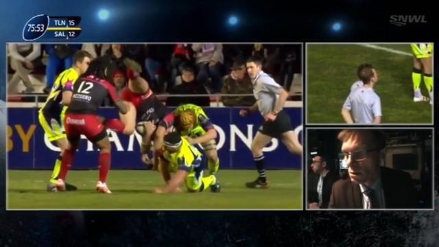 VIDEO. Champions Cup - Toulon. Guilhem Guirado aurait-il dû être pénalisé pour son saut de cabri ?