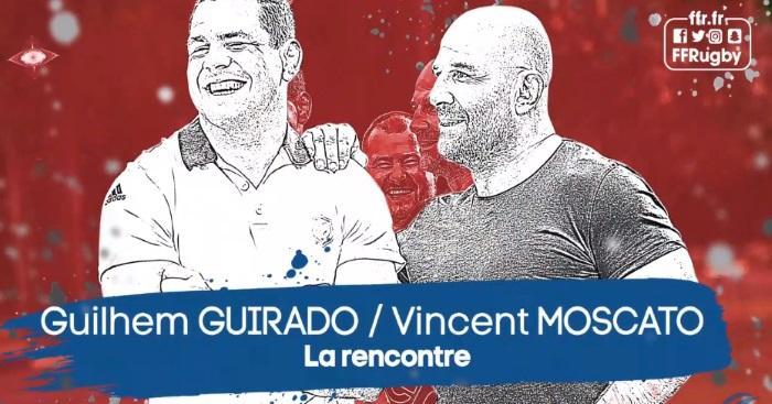 VIDÉO. Insolite : le face à face ''explosif'' entre Guilhem Guirado et Vincent Moscato