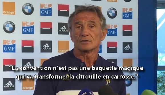 XV de France - Guy Novès fait le bilan de sa première année et évoque la tournée
