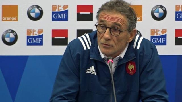 VIDEO. XV de France : Guy Novès justifie ses choix avant le match face aux All Blacks