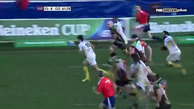 VIDEO. H Cup - ASM : les relances incisives de Jean-Marcellin Buttin face aux Harlequins
