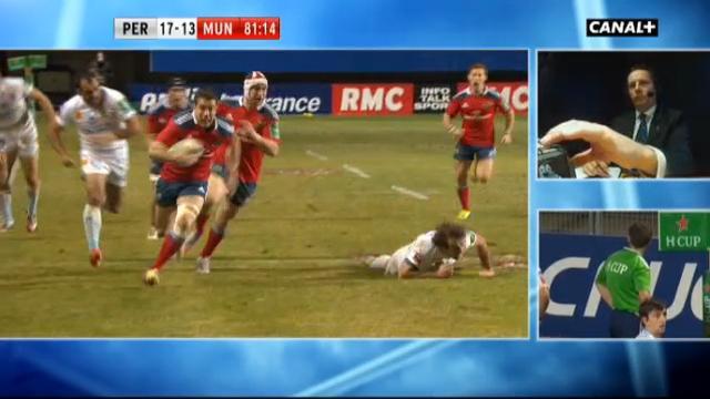 RESUME VIDEO. H Cup : JJ Hanrahan laisse Joffrey Michel pour mort et crucifie l'USAP à la 82e minute