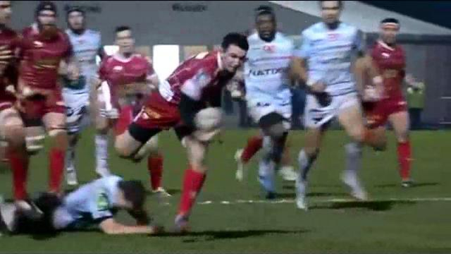 VIDEO. H Cup : la fulgurance de Kristian Phillips de Llanelli crucifie le Racing Métro