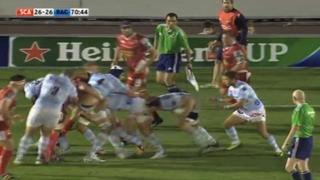 VIDEO. H Cup : Le maul du Racing Metro 92 enfonce les Scarlets sur... 65 m