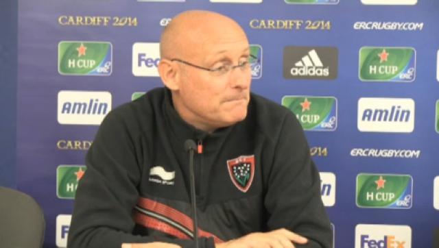 VIDEO. RCT : Bernard Laporte : Certains joueurs ont perdu des points