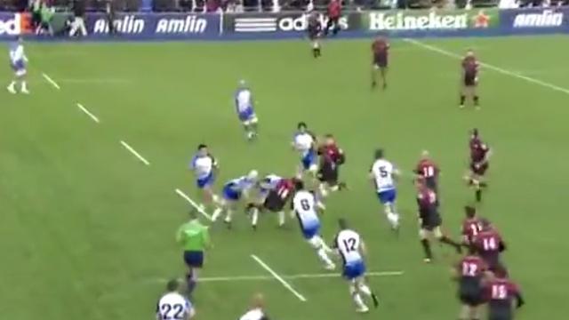 VIDEO. H Cup : Rodney Ah You désosse Alistair Hargreaves pour la forme