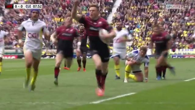 RESUME VIDEO. H Cup - Saracens - ASM. Les Clermontois corrigés en demi-finale
