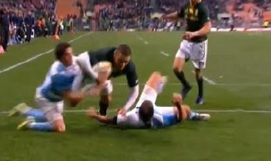 Les Boks trop forts pour les Pumas (27-6)