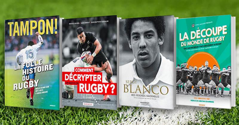 Ces livres à dévorer pour parfaire votre culture rugby pendant la Coupe du monde !