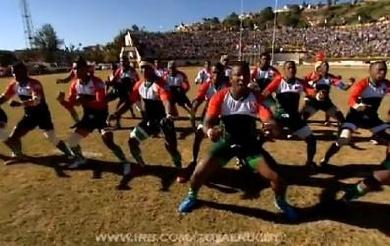 Madagascar défie la Namibie avec son Haka