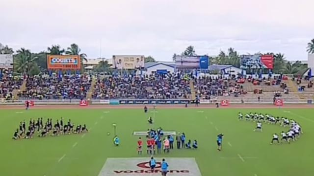 VIDEO. Les Fidji et les Maoris All Blacks figent le temps avec un duel de Haka mémorable