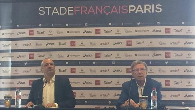 Top 14 - Hans-Peter Wild dévoile le nouveau projet du Stade Français