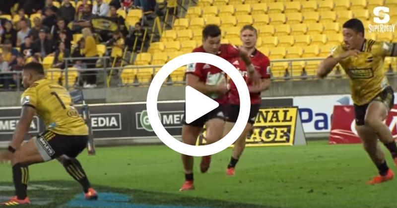 Super Rugby - Les Hurricanes surpris par lesCrusaderset DavidHavili[VIDÉO]