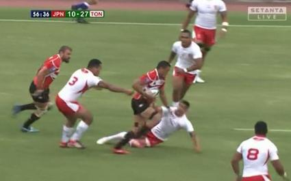 Hendrick Tui a mis les Tonga à ses pieds
