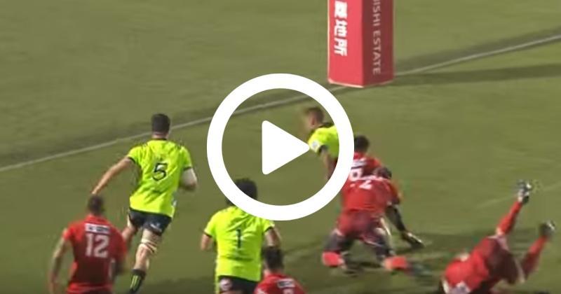 Super Rugby - Les Highlanders en mode rouleau compresseur face aux Sunwolves ! [VIDÉO]
