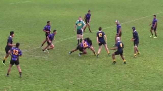 VIDEO. Nouvelle-Zélande - Deux lycées se défient dans une impressionnante bataille de Highlights