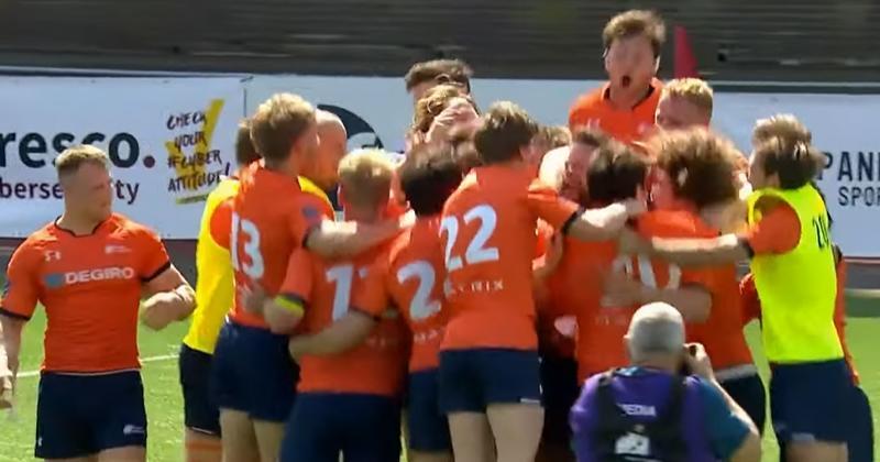 HISTORIQUE ! Les Pays-Bas renversent la Belgique et montent en 2e division européenne [VIDEO]