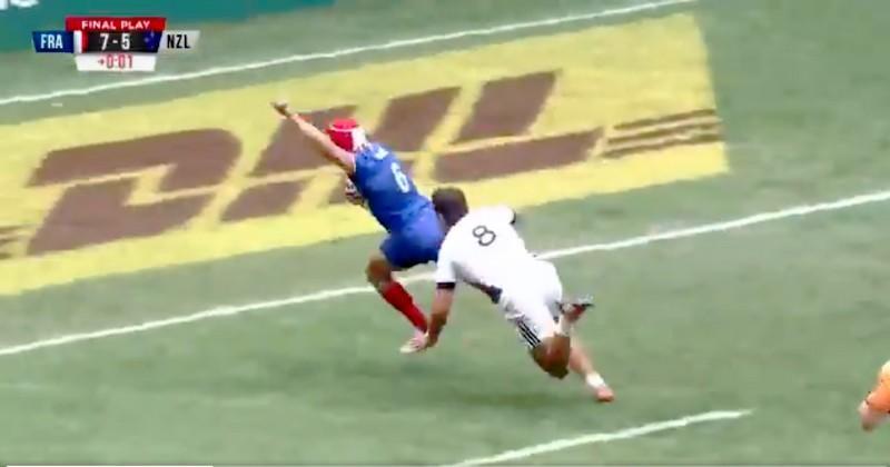 Hong Kong 7s - L'exploit de Gabin Villière contre la Nouvelle-Zélande [VIDEO]