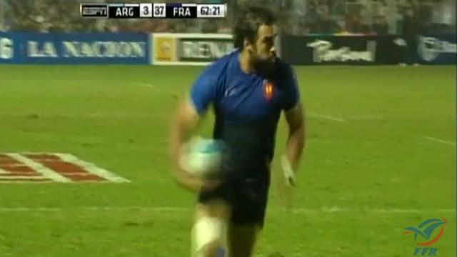 VIDEO. FLASHBACK. Le XV de France passe 6 essais à l'Argentine en 2012