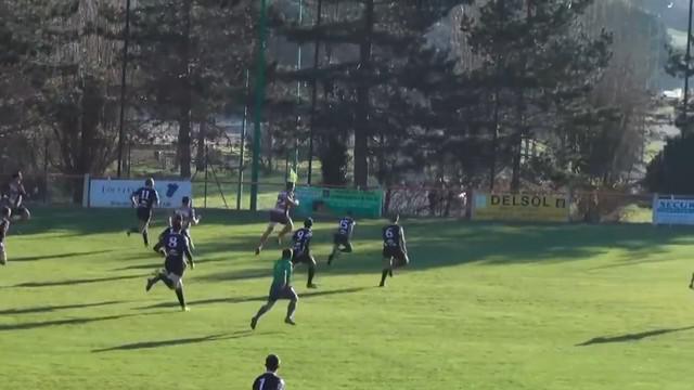 VIDEO. Rugby Amateur #78. Pont-du-Casse atomise Castillonnès avec 54 points de son arrière Hugo Tolot