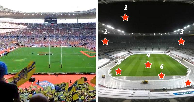 Match normal vs Match à huis clos : le jeu des 7 différences