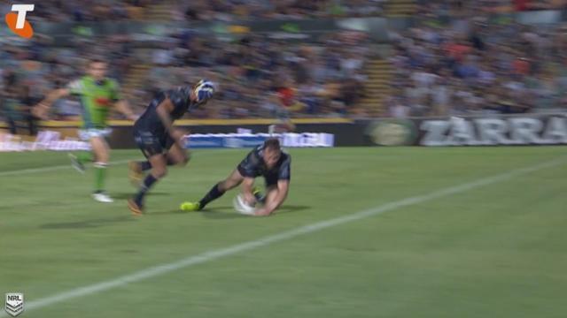 VIDEO. NRL - Il marque l'essai de la victoire après un rebond sous la barre transversale