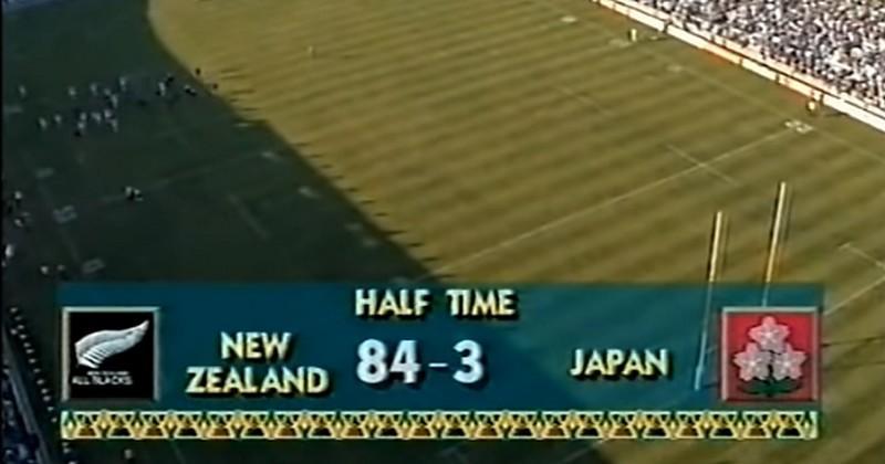Il y a 25 ans, les All Blacks atomisaient le Japon 145 à 17, un record [VIDÉO]