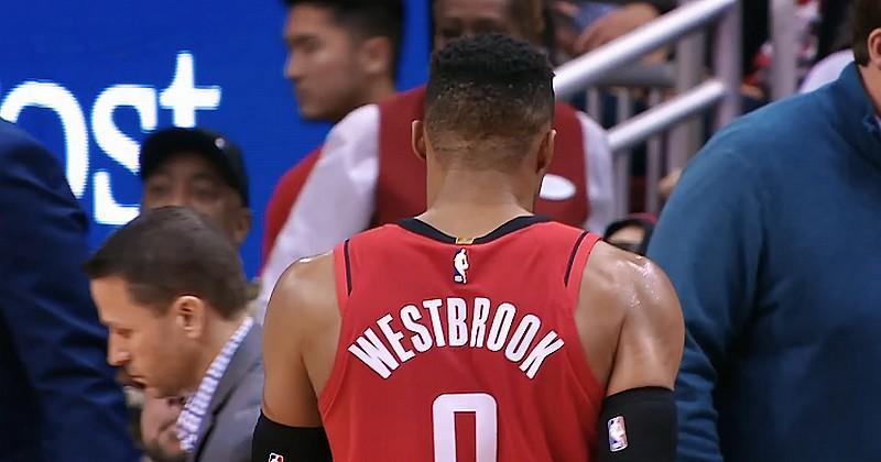 Improbable : le maillot collector du Stade Montois se retrouve en NBA grâce à Westbrook [PHOTOS]