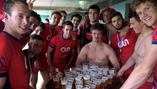 Les rugbymen de l'INSA Toulouse, des amphis aux quatre coins de l'Europe