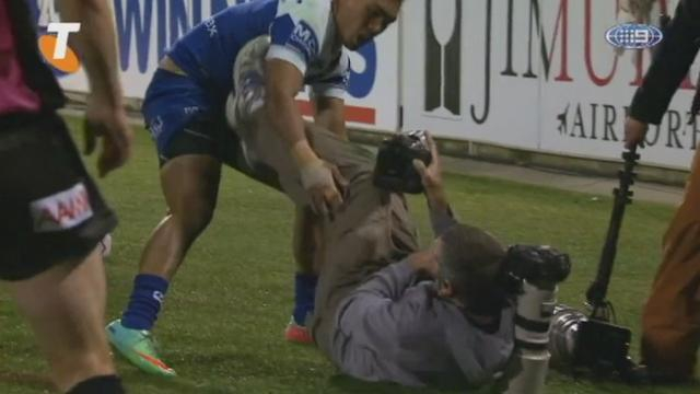 VIDEO. INSOLITE. Le difficile métier de photographe de rugby en NRL