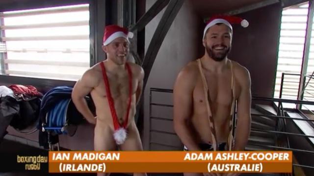 VIDÉO. INSOLITE. Adam-Ashley Cooper et Ian Madigan prennent un bain glacé en mode Borat