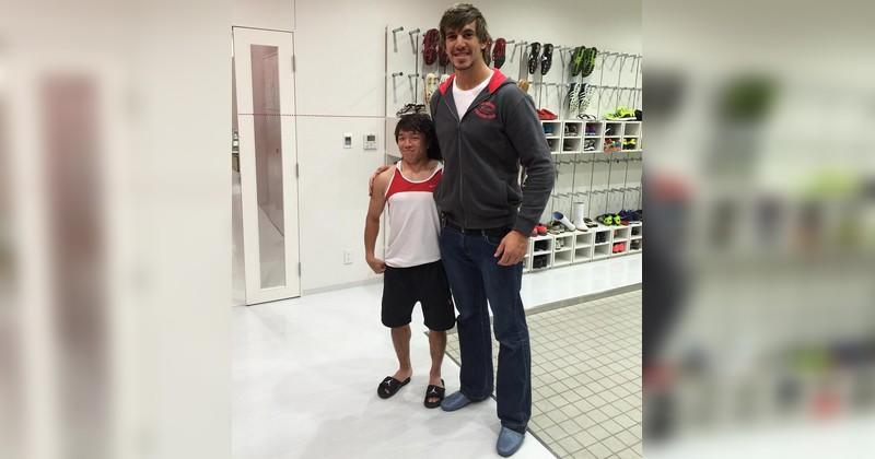 Ippei Hata, 1m52 pour 52kg, nous prouve que tout est possible même dans le rugby pro