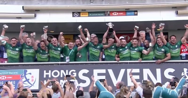 Rugby à 7 –L'Irlande, la nouvelle bombe européenne?