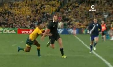 Les All Blacks l'emportent en Australie en ouverture du Rugby Championship