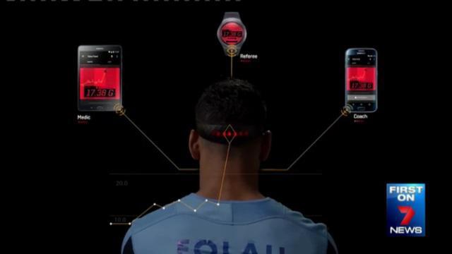 VIDEO. Un bandeau futuriste pour prévenir les risques de commotion testé en Australie