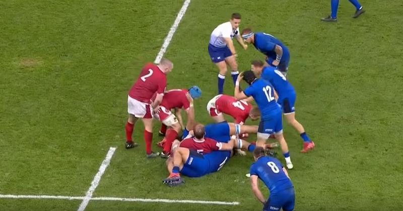 Les Italiens les plus rapides dans les rucks ! Qui l'eut cru !