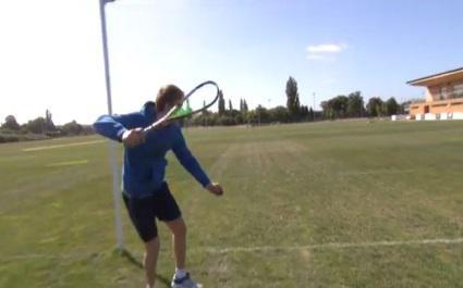 VIDEO. Quand le squash vient à la rencontre du rugby
